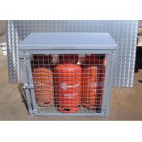 Quality Compressed Gas Cylinder Cages Gas Canister Storage For Warehouse 800*900*430mm for sale