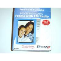 China Voice Recording Photo Frame with pre-recorded and re-recordable for family on sale