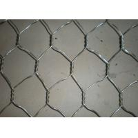 Galvanized / PVC Gabion Box 2.5 - 5mm Wire Diameter Fit Water And Soil Protection