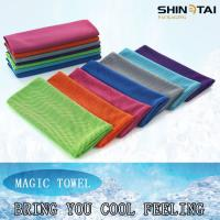 China Instant Cool PVA Sports Swimming Running Cool Towel on sale