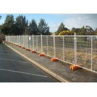 Buy cheap Interlocking Removable Steel Temporary Fencing , Portable Fence Panels from wholesalers
