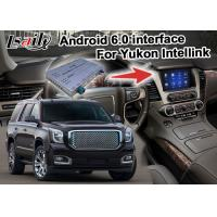 Quality Android 6.0 Car Navigation Box Video Interface Box WIFI BT For GMC Yukon Etc for sale