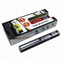 Quality New Arrival A4 Size Wireless Portable Scanner with 900dpi High Resolution for sale