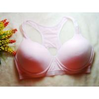 Buy Shock Absorber Pink Nylon / Cotton  Front Closure Sports Bra 38g for Summer at wholesale prices