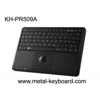 Quality Industrial mini plastic computer keyboard with trackball mouse 78 Keys for sale