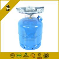 Quality 7.2l Hp295 Stainless Steel Household Gas Cylinder with burner Low Pressure Use for sale