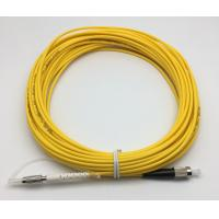China DIN Fiber Optic Patch Cord Singlemode Multimode DIN To FC Simplex 15M 3.0mm on sale
