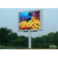 Quality Large outdoor digital billboards P16 / DIP Full color led display video wall screen for sale
