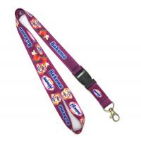 Quality Detachable Heat Transfer Lanyard With Snap Hook For ID Badges for sale