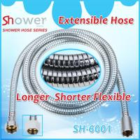 Buy cheap NINGBO LEELONGS FACTORY on Stainless Steel Chrome Plating Extensible and Flexible Shower Hose product