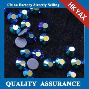 China high quality hotfix swainstone; swainstone hot fix for dress;wholesale flat back rhinestones on sale
