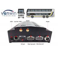 Buy cheap 4CH 8CH built-in 3G / 4G / WIFI / G-sensor DVR security HD 1080P MDVR with SDK, Free CMS, Server product