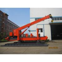Quality Robot Hydraulic Pile Driver For Soft Soil Pile Foundation Energy Saving for sale