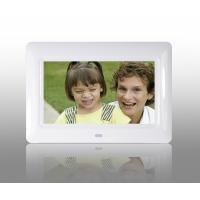 Buy White 7 Inch TFT High Resolution Digital Picture Frame With USB 2.0 Interface at wholesale prices