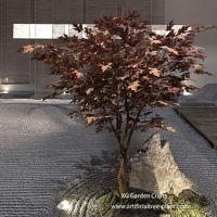 UV Protection Artificial Maple Tree Made Of Epoxy Resin , Fiberglass Durable for sale