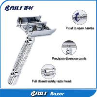 Quality Double edge razor No Electric and Male Gender shaving set DB179 for sale