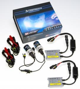 China AC 12V or 24V 35W 6000K / 8000K HID Headlight Kits , hid light kits for cars on sale