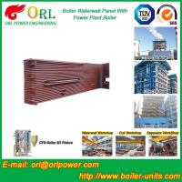 Buy cheap Gas Steam Industrial Power 300MW Station Boiler Water Walls for Condensing Boiler from wholesalers