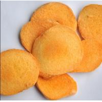 Quality Dried apricot chips, freeze dried apricot crisps for sale