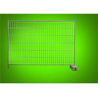 China Canada / Australia Galvanized Temporary Mesh Fencing Removable Portable Barrier on sale