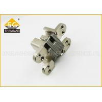 Quality Invisible Zinc Alloy Internal Door Hinges Soss Concealed , Full Inset Hinges for sale