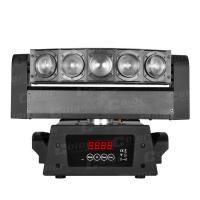 Rainbow Effects CREE Mini LED Moving Head Beam Stage Light with Infinite PAN Movement 50W