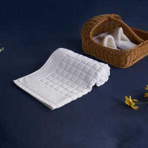 China White Hotel Bath Mat For Hotel Custom Logo Size Jacquard Rectangular Home on sale