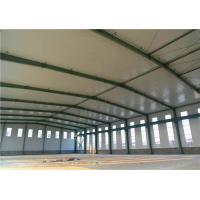 Quality Clean Span Steel Steel Structure Warehouse Metal Storage Buildings ASTM A36 for sale