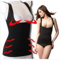 Buy Black Breathable Seamless Polyester Push Up Body Wrap Shapewear   at wholesale prices