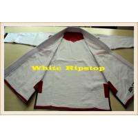 Ripstop BJJ GI Brazilian Jiu Jitsu Gi Pearl Weave Uniform For Men , Women