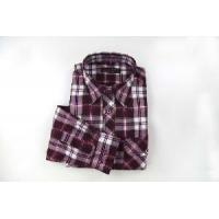 China Long Sleeves Casual Plaid Shirt for Men on sale