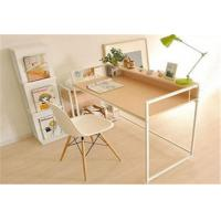 Quality Pretty Modern Furniture Table Wood And Metal Computer Desk For Students for sale