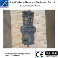 China hydraulic tandems pump, rexroth series piston pump,A10VSO model on sale