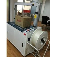 Quality fully automatic strapping machine using PP PET plastic film for sale