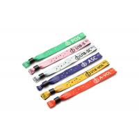 Quality Custom Heat Transfer Hand Wrist Bracelet Straps / Polyester Wristband Lanyards for sale