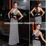 Quality Zebra Evening Dress for sale
