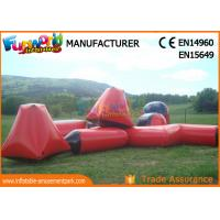 Buy cheap 0.6mm PVC Tarpaulin Inflatable Paintball Equipment Inflatable Paintball Bunkers from wholesalers