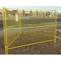 Buy Cheap PVC Coated Canada Temporary Fence at wholesale prices