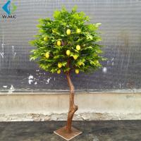 1.2m Height Artificial Lemon Tree , Fake Fruit Tree Anti Ultra Violet for sale