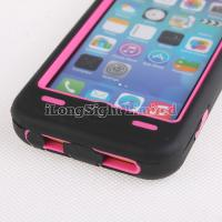Quality Zebra-Stripe Pattern Silicone+PC Case For iPhone 5C for sale