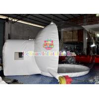Quality Waterproof Inflatable Clear Tent Bubble Tent Fireproof Inflatable Beach Tent for sale