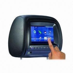 Quality 7-inch Digital TFT LCD Screen/FM/IR Function/OSD Display/Multilingual Menu/Games/Headrest DVD Player for sale