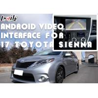 Quality TOYOTA Sienna Android Video Interface Car Interface With 360 Panoramic DVR for sale