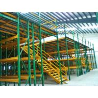Quality Heavy Duty Racking Beneath Shelf Supported Mezzanine Multi Tier Shelving for sale