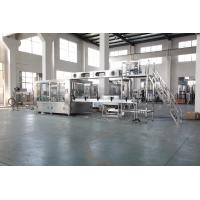 Quality Auto Plastic Bottle Water Filling Machine With PLC Control Stainless Steel Material for sale