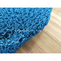 China Non - Slip Bathroom Rubber Mats , Soft Rubber Flooring PVC Vinyl Loop Mats on sale