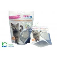 Quality Colorful Feeding Dog Food Pouch Packaging Zipper , Gravure Printing for sale