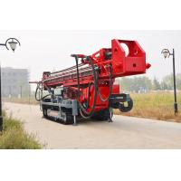 Buy The maximum hole depth1500m  DTH RC Top Drive Rig Water Well Drilling Rig With Crawler Mounted at wholesale prices