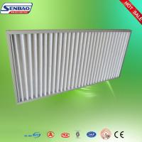 Quality High Air Flow Pleated Panel Air Filters Industrial Air Purifier With Washable Filter for sale