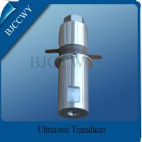 Quality High Frequency Piezoceramic Transducer High Voltage Transducer for sale